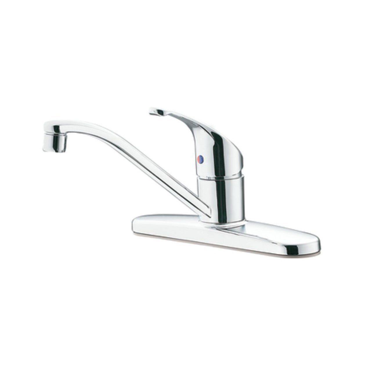 Moen CA47511 Flagstone 1 Handle Kitchen Faucet Chrome