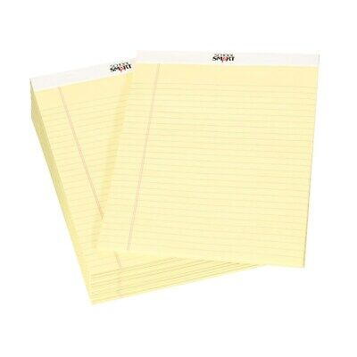 School Smart Junior Legal Pad 5 X 8 Inches 50 Sheets Each Canary Pack Of 12