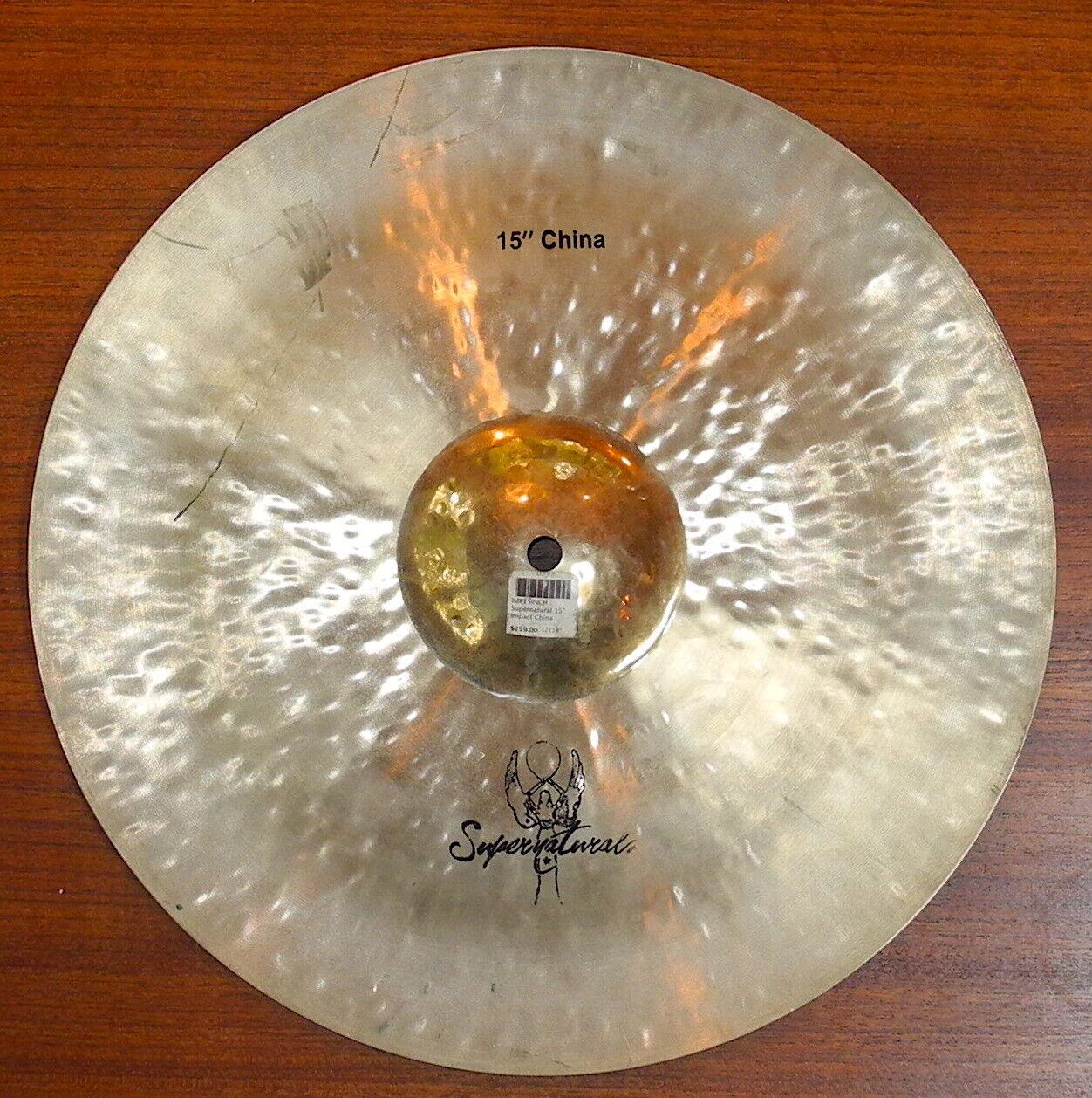 Supernaturals 15 Inch Impact China Drum Cymbal - $79.99