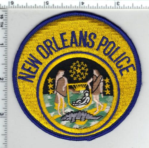 New Orleans Police (Louisiana)  5th Issue Shoulder Patch
