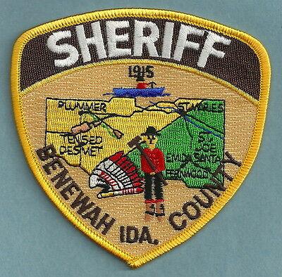 BENEWAH COUNTY SHERIFF IDAHO POLICE PATCH