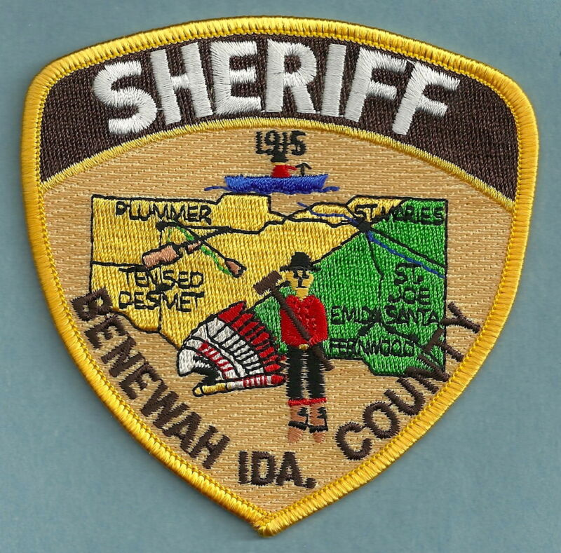 BENEWAH COUNTY SHERIFF IDAHO SHOULDER PATCH