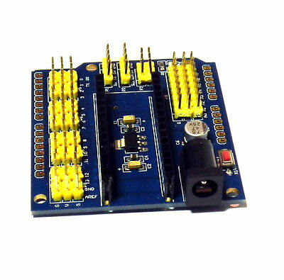 Nano I / O Expansion sensor Shield Module For Arduino UNO R3 Nano V3.0 new -- UK