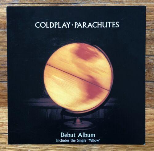 Coldplay Parachutes RARE original promo 12 x 12 album flat