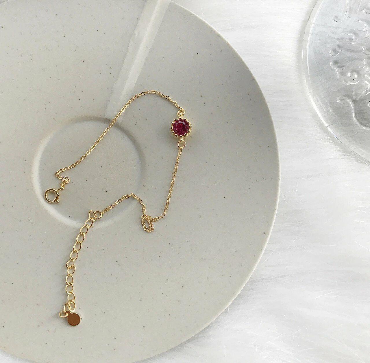 WOMEN BRACELET Jewelry 925 Sterling Silver 18K GOLD Plated