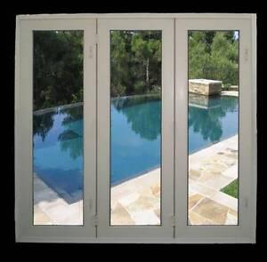 bifold window servery bifolding sliding 1800 x 1100 white 3 panel Dromana Mornington Peninsula Preview