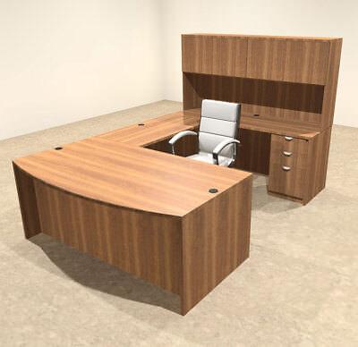 5pc U Shaped Modern Executive Office Desk Ot-sul-u13