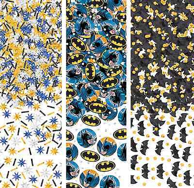 Batman Dark Knight Super Hero Confetti Birthday Party Decorations Party Supplies - Super Hero Supplies