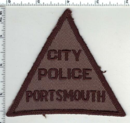Portsmouth City Police (Virginia) 1st Issue Shoulder Patch