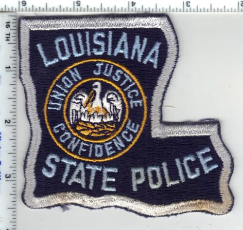 State Police (Louisiana) Silver Border Shoulder Patch - new