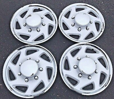 """NEW 1995-2011 FORD TRUCK F250 F350 Van E250 E350 16"""" Wheelcover Hubcap Set of 4"""