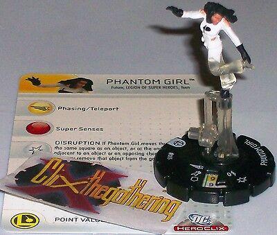 Phantom Mädchen #005# 5 Legion Of Superhelden Lsh Dc Heroclix
