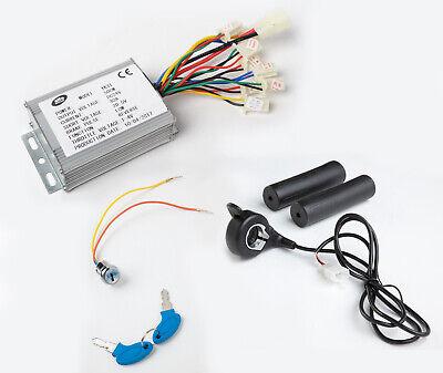 500 W 24v Kit Speed Control Box W Reverse Thumb Throttle Key F Electric Motor