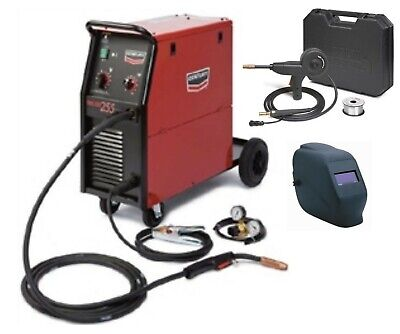 Century Lincoln K2783-1sh 255 Mig Welder With Adf Helmet And Spool Gun New