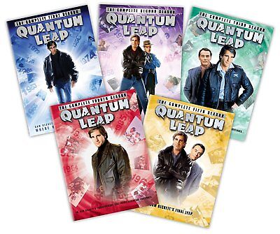 Quantum Leap: Seasons 1, 2, 3, 4, & & 5 DVD *Brand New Sealed*