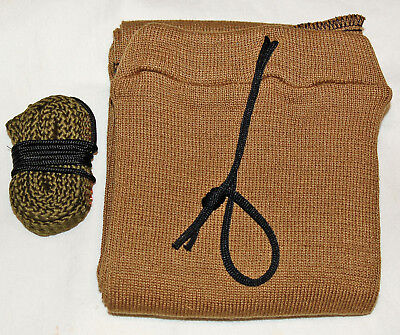For Ruger PC Carbine 9mm Bore cleaning snake & gun sock FDE coyote 42 inch