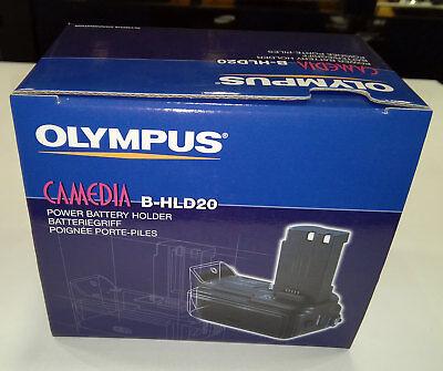 Olympus B-HLD20 Power Grip Battery Holder for C-5060 & C-7070 Camera 200416 Olympus Power Battery Holder