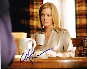 ANNA-GUNN-SIGNED-8X10-PHOTO-AUTHENTIC-AUTOGRAPH-BREAKING-BAD-SKYLAR-COA-C
