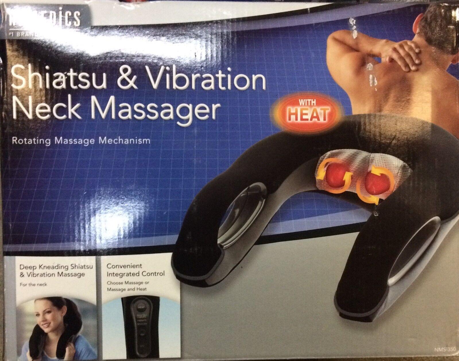 Homedics  Neck Massager Shiatsu and Vibration With Heat