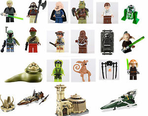 Lego-Star-Wars-Minifigs-YOUR-CHOICE-New-Release-Jabba-Boba-Fett-9496-9498-9516