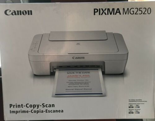Canon PIXMA MG2520 All-In-One Inkjet Printer -- BRAND NEW --