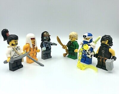 LEGO NINJAGO 6 Mini Figures Lloyd Digi Jay Cole  Okino Harumi Scott 71708 70677