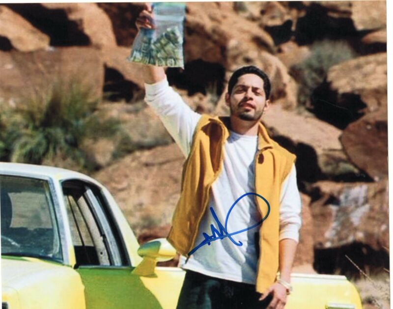 Max Arciniega signed Breaking Bad 8x10 Photo w/COA Krazy-8 #4