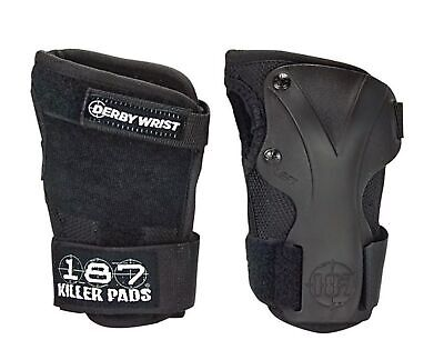 Padded Wrist Guards - 187 Killer Pads Derby Wrist Guards - Small, Medium or Large