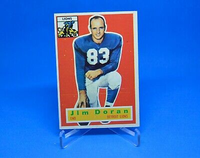 1956 Topps Football 80 Jim Doran