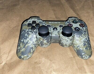 Playstation 3 Urban Camo Dualshock 3 Wireless Controller (ps3) Tested!