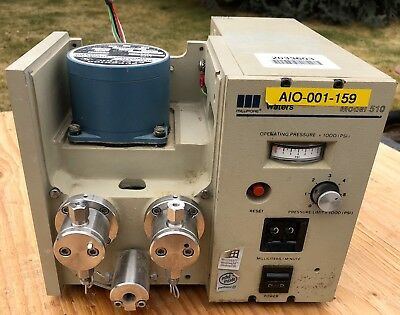 Millipore Waters 510 Hplc Solvent Delivery System Pump Model 510 Usa