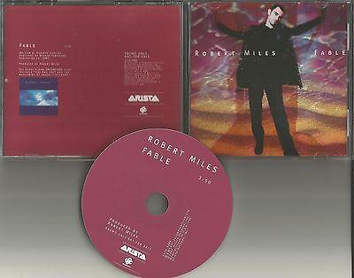 ROBERT MILES Fable ULTRA RARE 1997 USA PROMO Radio DJ CD single MINT ASCD 3295