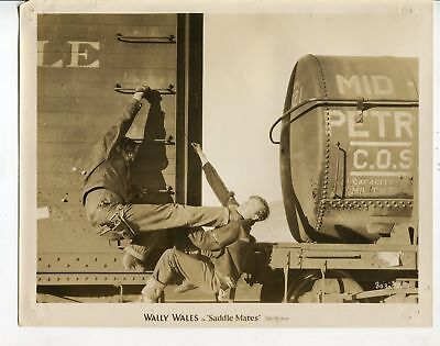 Used, Saddle Mates-Wally Wales-B-Western-Silent Movie-8x10-B&W-Promo-Still for sale  Tampa
