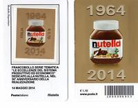 1592 No Codice A Barre Tessera Nutella I 2 Lati Anno 2014 - nutella - ebay.it