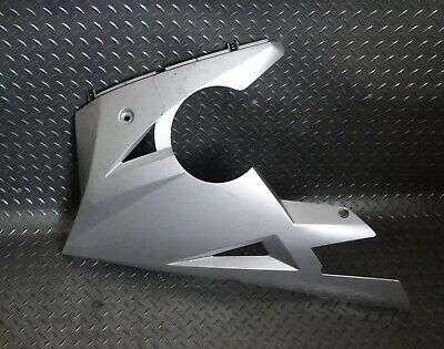2004 TRIUMPH DAYTONA 600 SILVER LEFT LOWER FAIRING  BELLY PAN   T2305