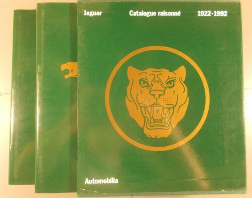 Jaguar Catalogue Raisonne 1922-1992