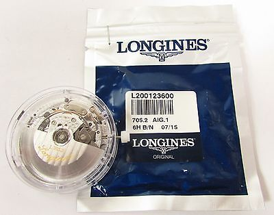 NEW LONGINES L 705.2 AUTO CHRONO WATCH MOVEMENT - 27 JEWELS - FACTORY PACKAGING