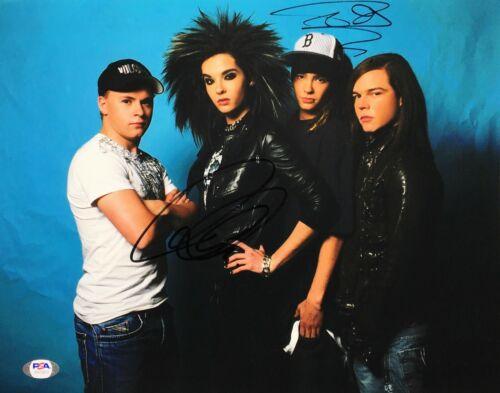 Bill Kaulitz & Tom Kaulitz Signed 11x14 Photo *Tokio Hotel PSA AH75917