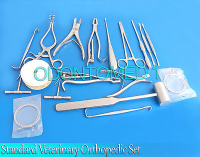 Standard Veterinary Orthopedic Set Surgical Veterinary Instrumentsvt-001