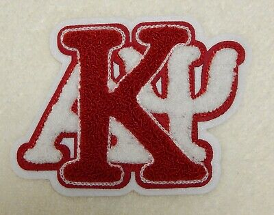 """KAPPA ALPHA PSI Chenille Stacked Letters Patch (5 3/4""""w  x  4 1/4""""h)"""