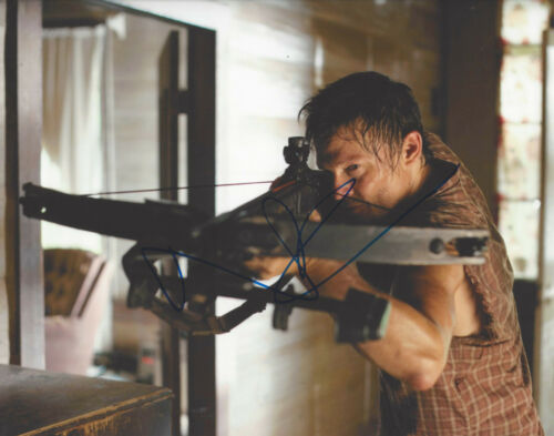 NORMAN REEDUS SIGNED 'THE WALKING DEAD' DARYL DIXON 8x10 PHOTO B w/COA ACTOR