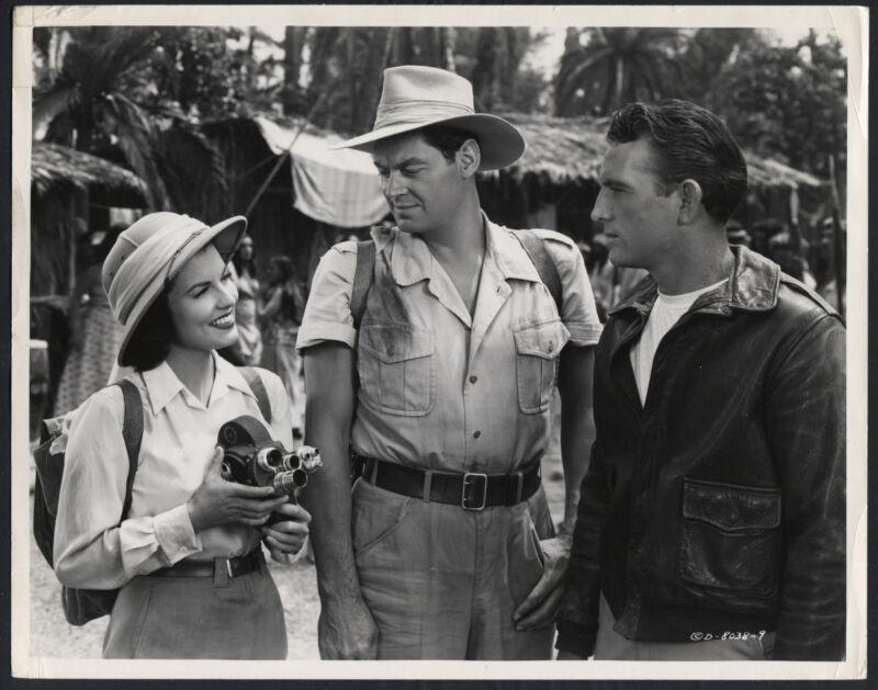 Jungle Manhunt '51 JOHNNY WEISSMULLER SHEILA RYAN ROBERT WATERFIELD