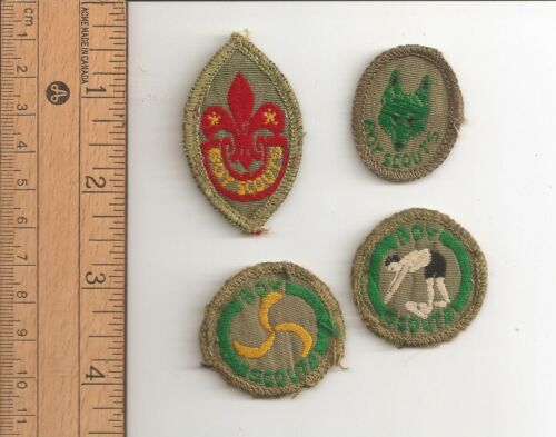 Merit Proficiency - Tenderfoot, Cub Instructor, Missioner, Swimmer - Scouts CAN