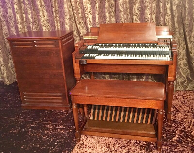 Hammond 1958 B3 Organ w/Leslie 122 Speaker. Shipping By Craters And Freighters