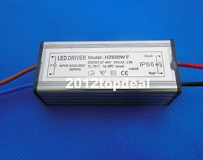 20w Power Supply Led Driver For 20watt High Power Led Light Lamp Waterproof