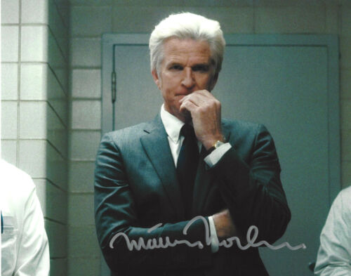 MATTHEW MODINE AUTHENTIC 'STRANGER THINGS' DR BRENNER 8X10 PHOTO B w/COA ACTOR
