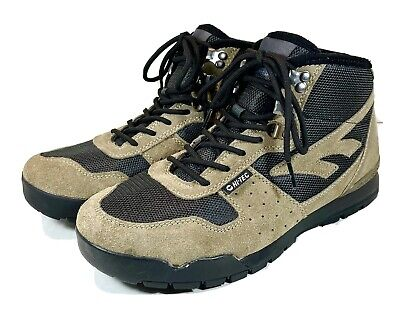 New Hi-Tec Mens Crestone Hiking Boots Smokey Brown Size 9M