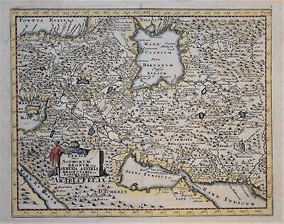 IRAN - PERSIA SIVE SOPHORUM REGNUM - CLUVERIUS CIRCA 1697.