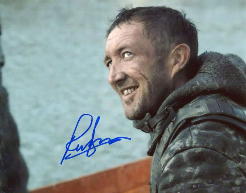 """Ralph Ineson """"Game of Thrones"""" AUTOGRAPH Signed 8x10 Photo B ACOA"""