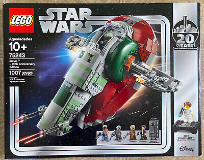 LEGO Star Wars 75243 SLAVE 1 - 20th Anniversary Edition * New * Free Expedited